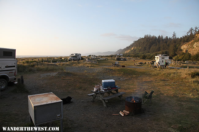 Gold Bluffs Beach Campground Photo By Dirtydog
