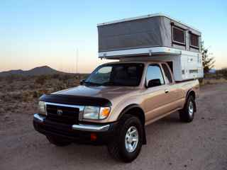 For Sale 1999 Toyota Tacoma Xtracab with 2002 Four Wheel Eagle Slide