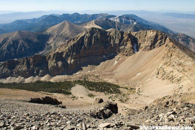 Summit View From Wheeler Peak