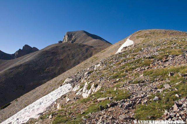 The North Ridge to Wheeler Peak