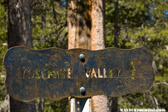 Trail To Yosemite Valley From Olmsted Point