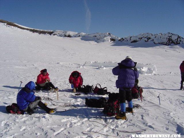 Summit crater 14,411'