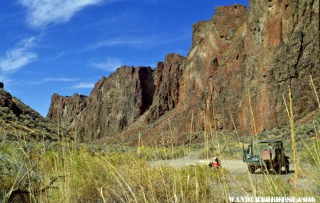 High Rock Canyon Camp