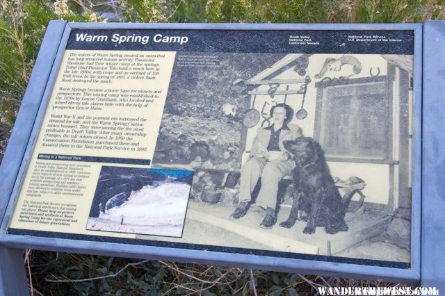 Warm Springs Camp - Death Valley National Park - Gallery