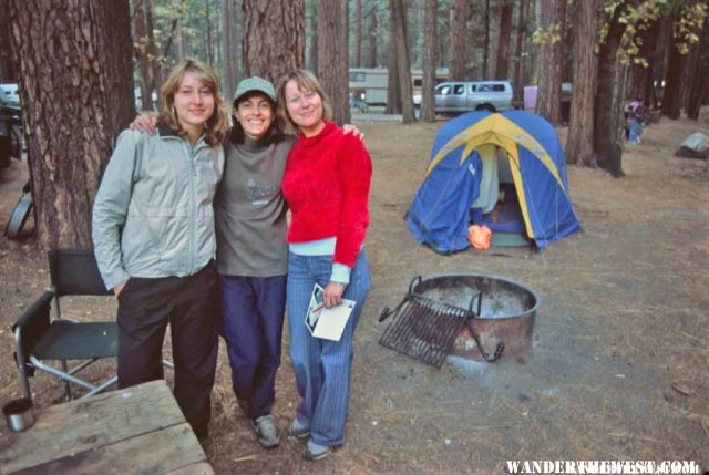 Upper Pines Campground was full even in October