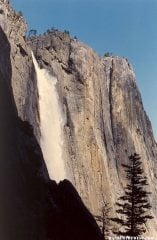 Yosemite Falls and Lost Arrow Spire
