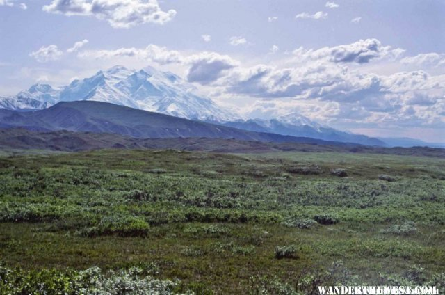 Between Eielson and Wonder Lake