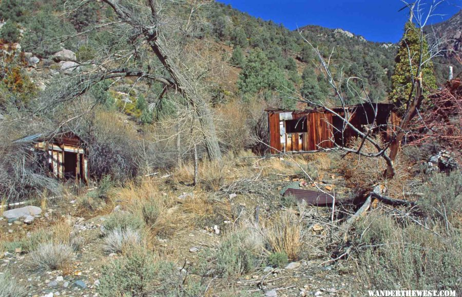 Cabins In Surprise Canyon Death Valley National Park