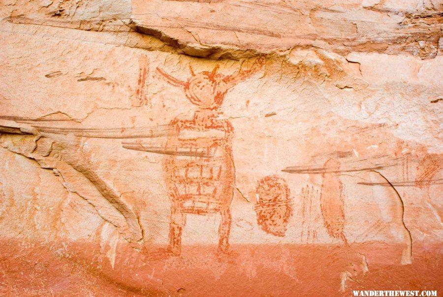 Great Gallery Rock Paintings