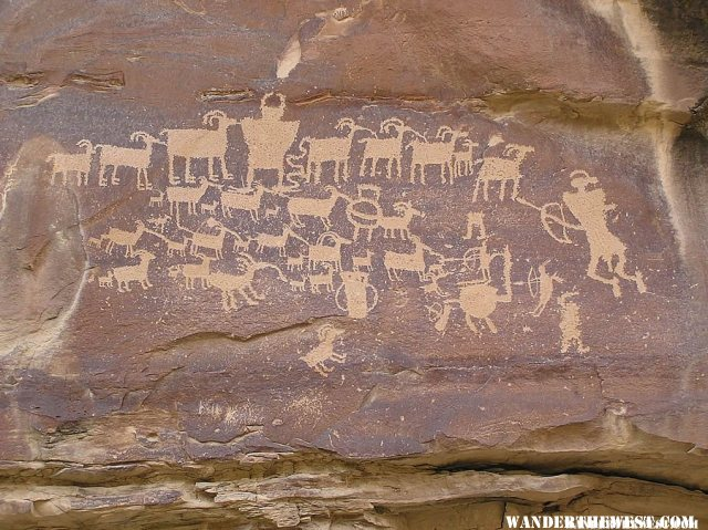 The Great Hunt Petroglyph