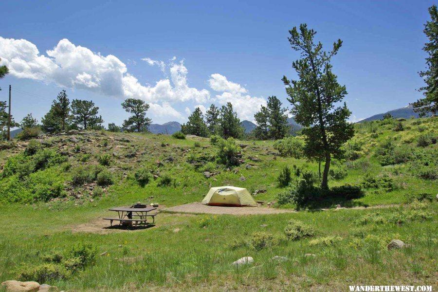 Moraine park campground rocky mountain national park for Rocky mountain state park cabins