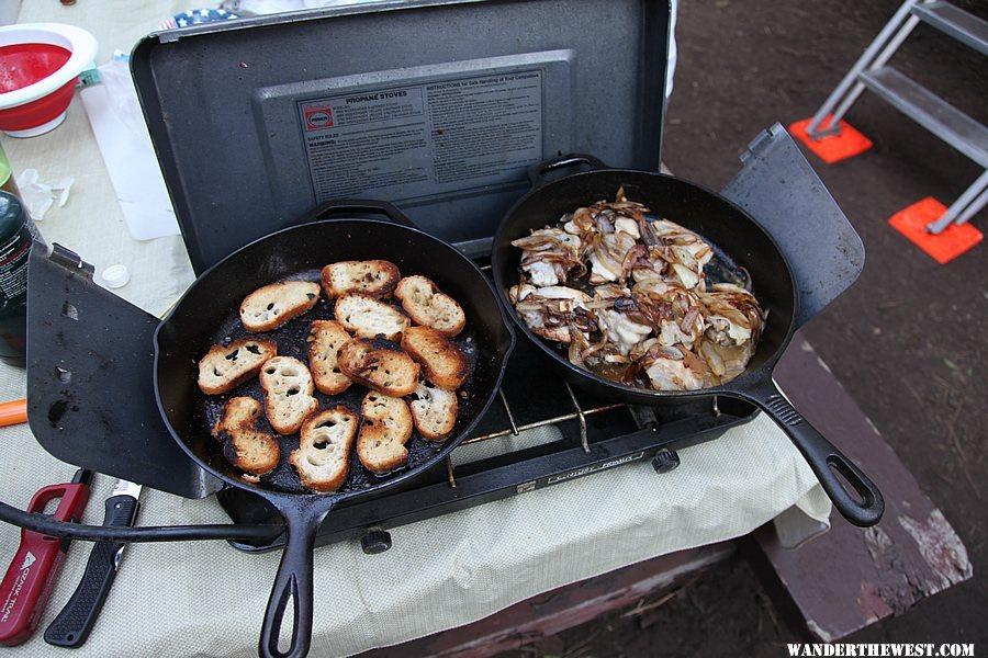 Marc's chicken sliders - Camp Cooking, Food & Beer ...