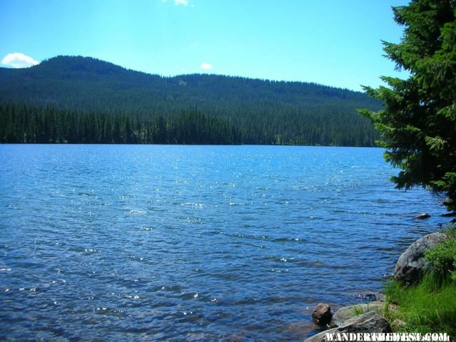 Mink Lake from the Shelter