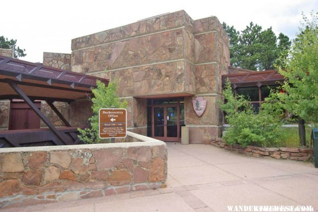 Beaver Meadows Visitors' Center