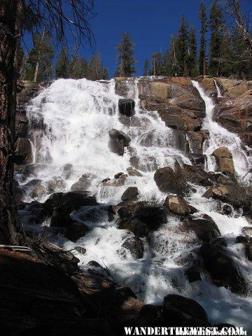 Minaret Falls - Near Devils Postpile National Monument