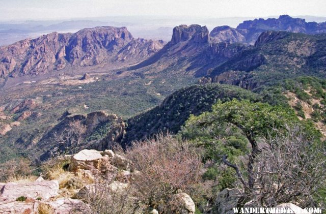 Chisos Basin from Emory Peak