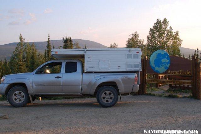 Arctic Circle, Dalton Highway, Alaska