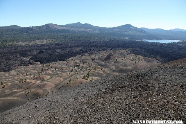View from the top of the cinder cone
