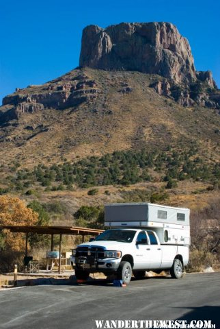 SimiMike's Rig in Chisos Basin CG