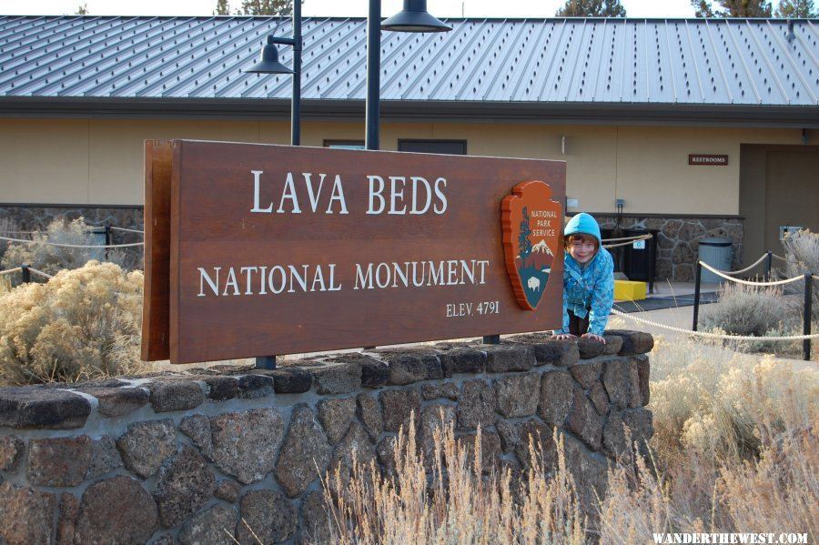 Cold day at Lava Beds