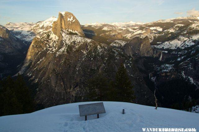 Glacier Point Winter Vista