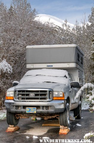 Truck on Multi-Ramps