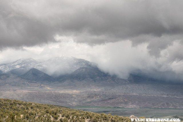 Storm Over the Northern Snake Range