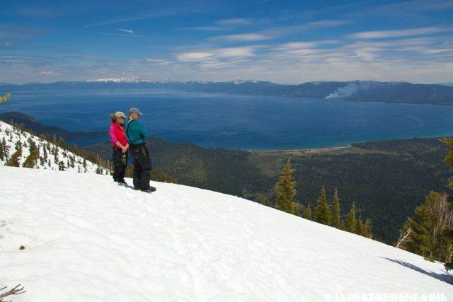 Happy Backcountry Skiers