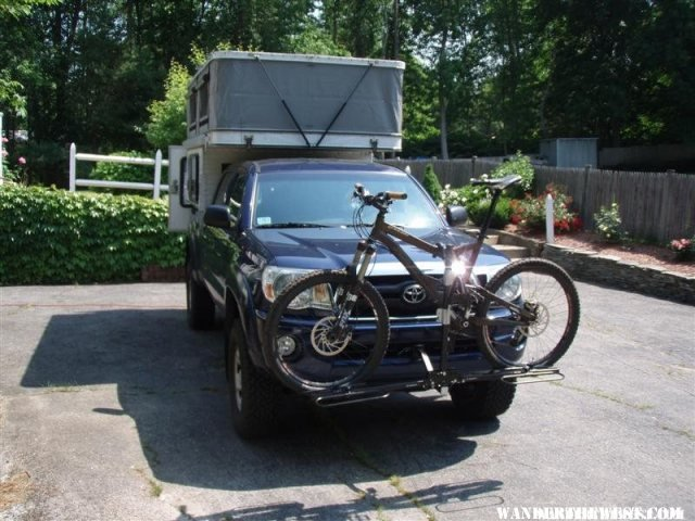 Front Mounted Bike Rack Vehicles And Vehicle Mods