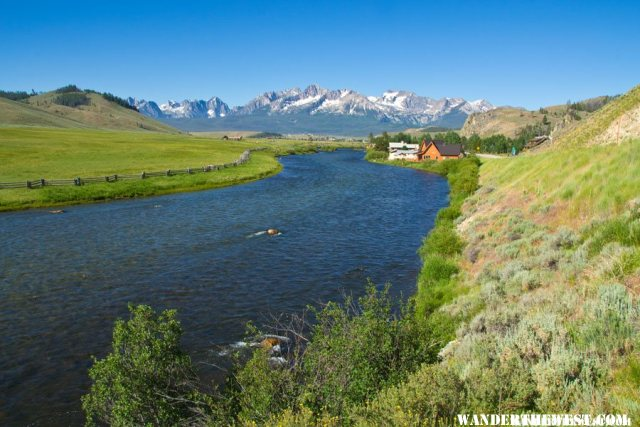 Stanley, Idaho and the Salmon River