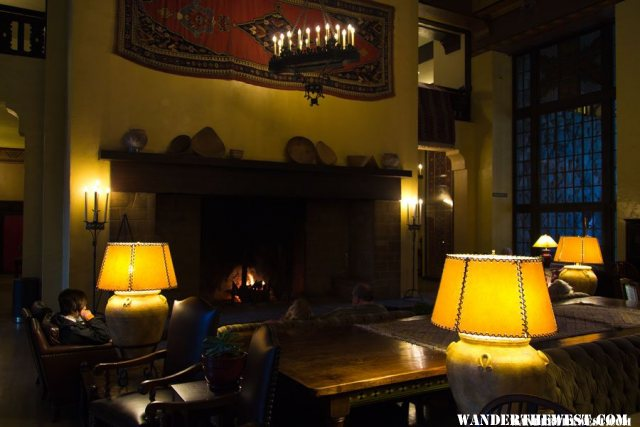Inside the Ahwahnee