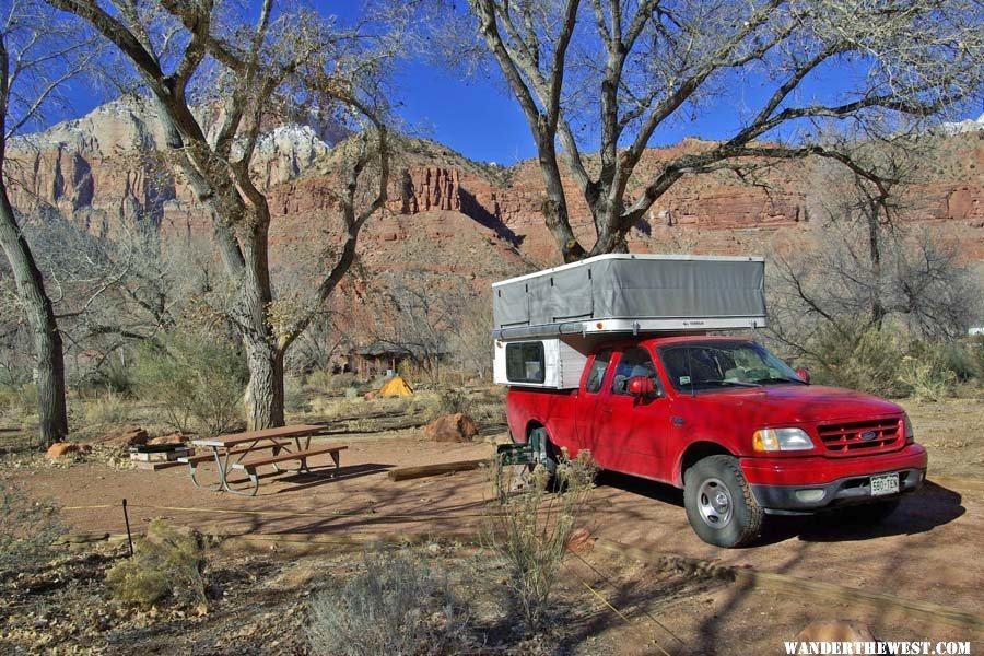 All Terrain Camper in Zion
