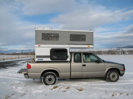 Falcon on a Chevy S10 questions? - Four Wheel Camper