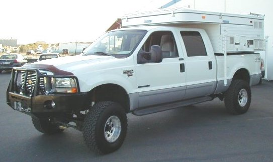 New Hawk Model on beefed up Ford F-250 - Four Wheel Camper