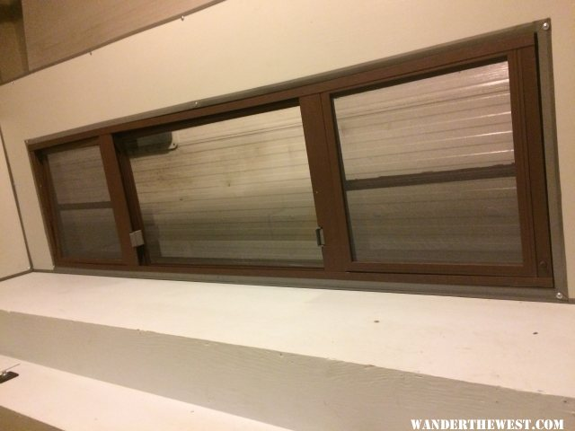 Passenger Window - Interior