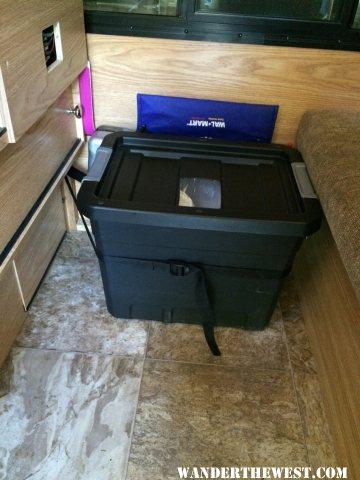 potty box