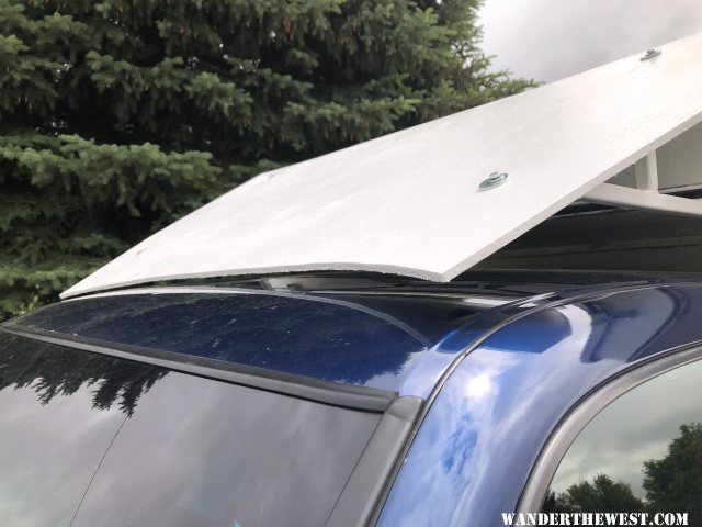 clearance at truck roof