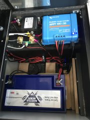 Controller, Battery and Battery Monitor Install