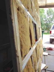 Reinforced roof frame