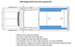 1993 Dodge W250 Club Cab Long Bed