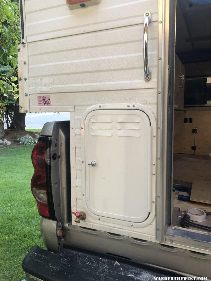 Door mounted