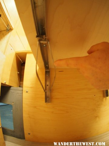 Bent supports