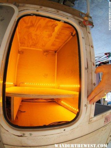 former propane cab - lights