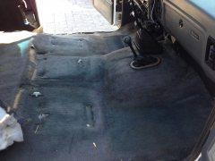 IMG 9270 - Original Carpet in Cab