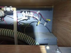solar wires in camper