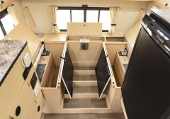 Storage under Seats and Table