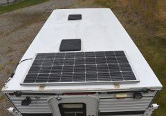 130W Solar & 2 Roof Vents
