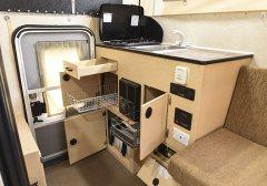 Stove, Sink, Heater, Storage