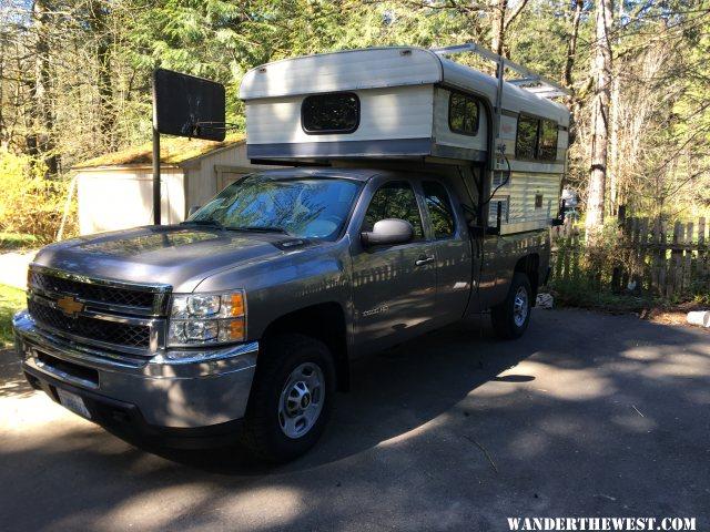 Camper on 2013 Silv 2500