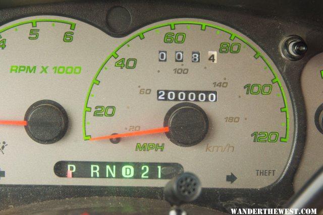 200000 miles